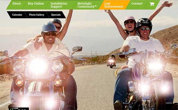 Motolight Website